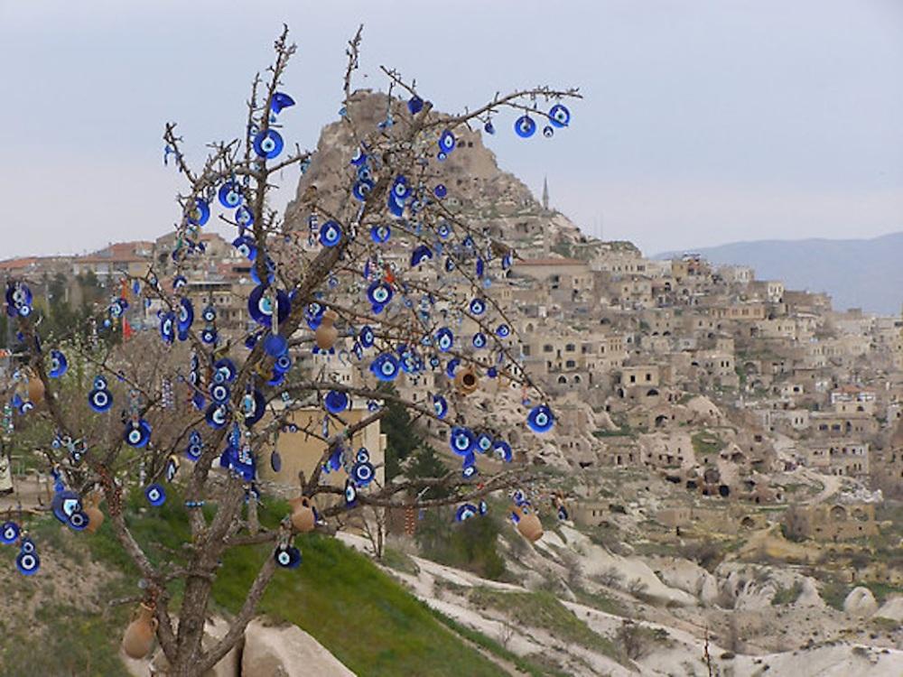 'Nazar' Evil eye beads in Cappadocia