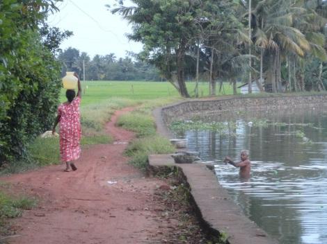 Village in Kerala.