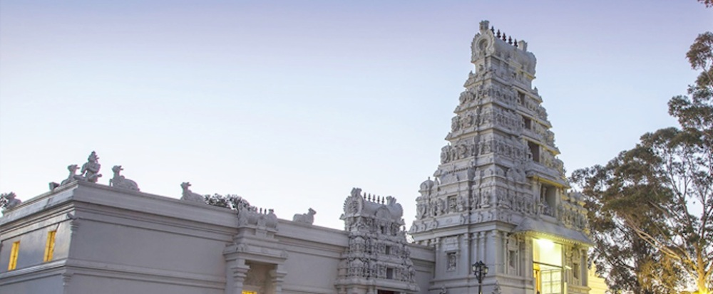 Sri Venkateswara Temple, Helensburgh, NSW. Image Source: SVT Website