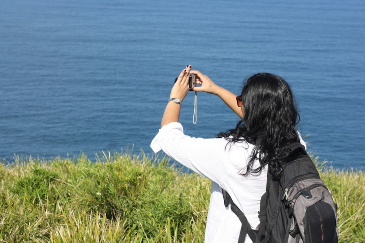 Overlooking the Tasman Sea, Stanwell Tops.