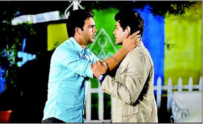 Karan and Gaurav in Maryada.