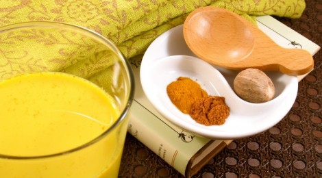 Perhaps home is my mother's turmeric and honey milk. Image: Google.