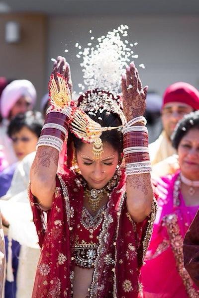 Indian Bride Bidai Ceremony