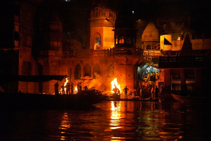The Pyres of Varanasi. Source: Click