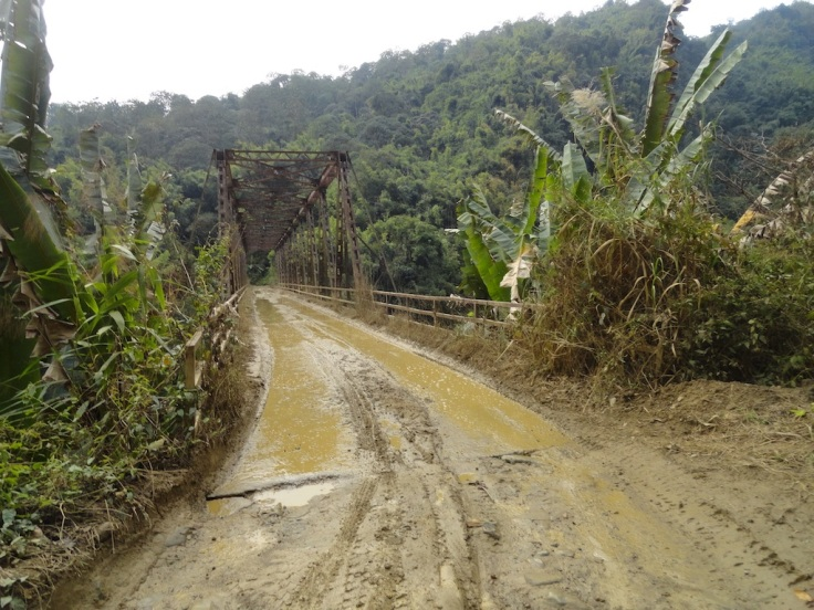 Road from Mokokchung to Mon.