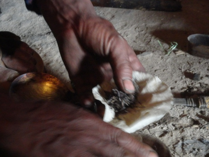 Preparing of an opium joint