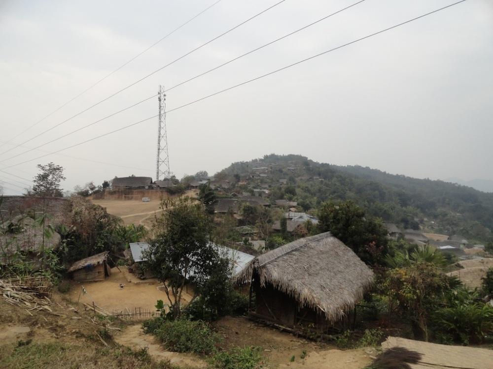 Overlooking the village of Tamgnyu, Nagaland.