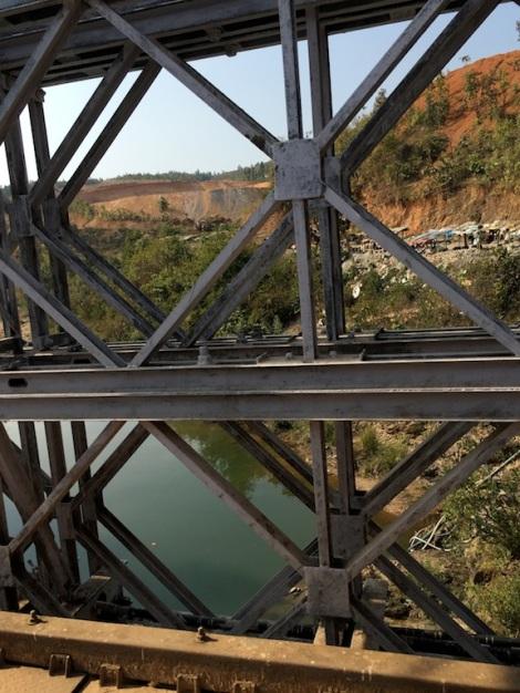 Myanmar-India Border Crossing.