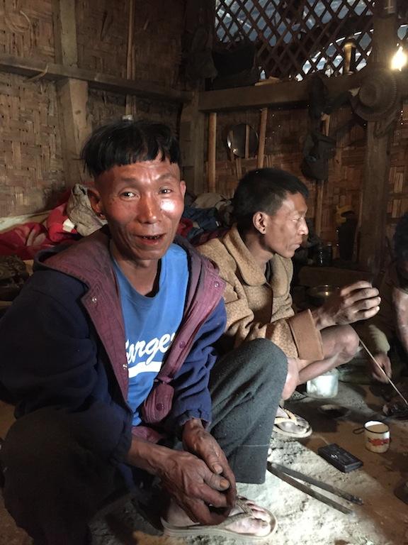 A konyank male from Longwa.