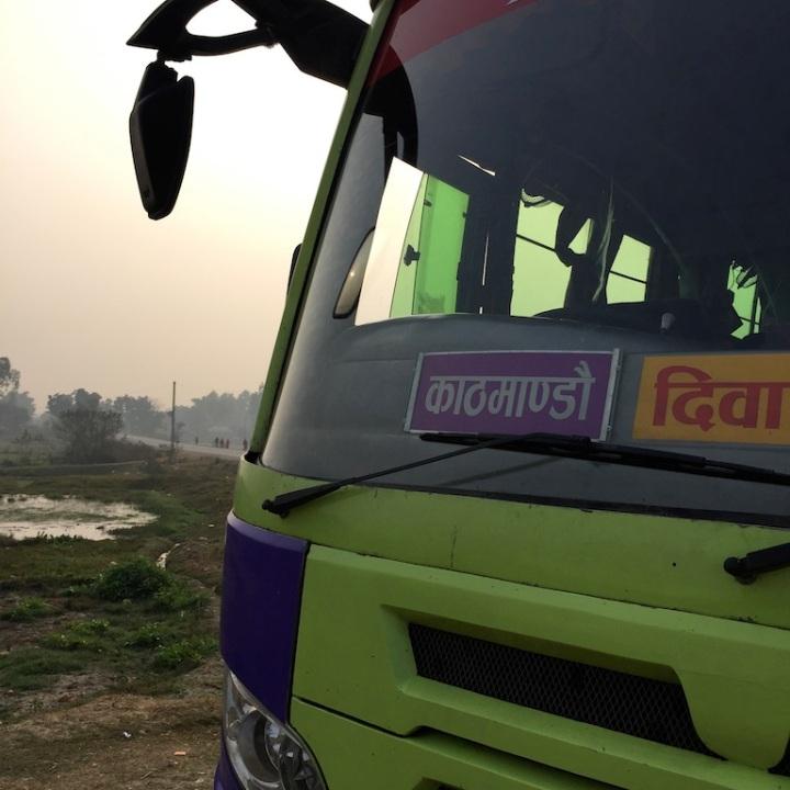 Kakarbitta to Kathmandu on a local bus.