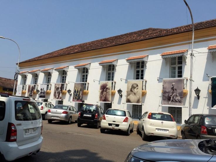 GoaPhoto outside the Old Secretariat Building